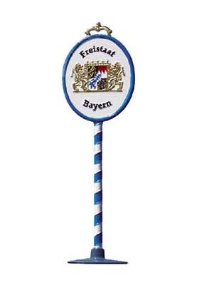 Schild Bayern klein zum...