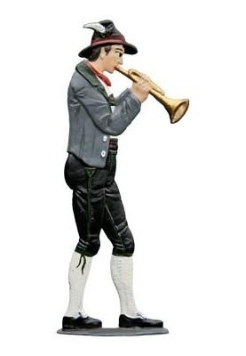 Trumpeter standing
