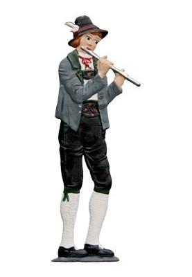 Flutist standing