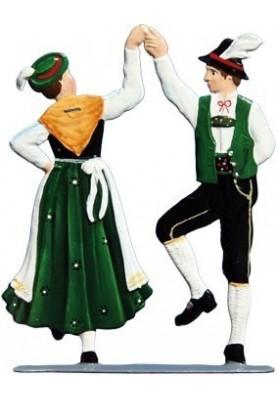 Tanzpaar Hände oben zum...