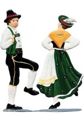 Tanzpaar auseinander zum...