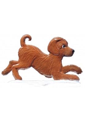 Dog puppy 2 standing