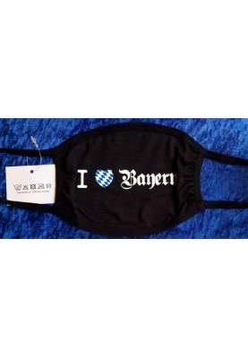 Bayerische Baumwoll Maske...