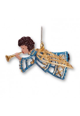 3D Angel with mus trombone