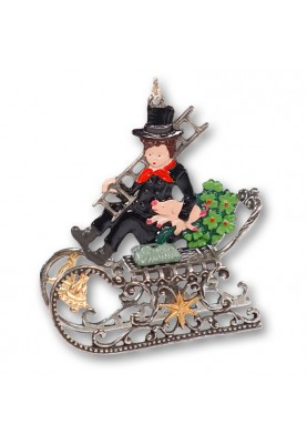 Pewter 3D Chimney Sweeper...