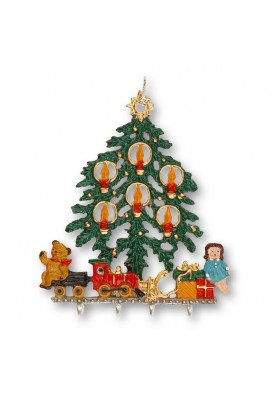 3D Christmas Tree with Toys