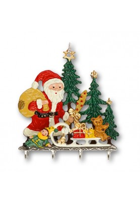 3D Santa Claus with Presents