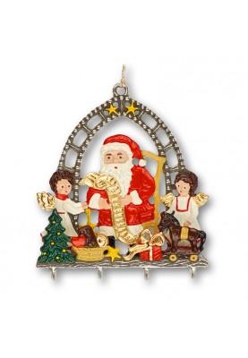 3D Santa Claus with List