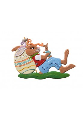 Easter Bunny playing 2021