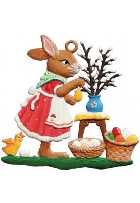 Pewter Market Bunny