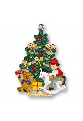 Pewter Christmas Tree with...