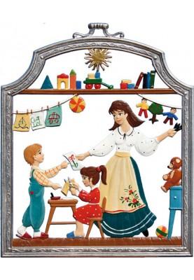 Kindergärtnerin klein