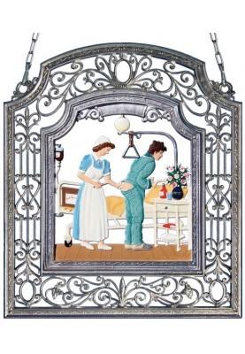 Krankenschwester groß