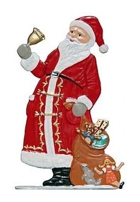 Weihnachtsmann mit Glocke zum Stellen