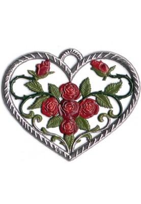 Herz mit Rosen klein