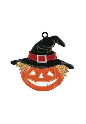 Halloween Kürbis mit Hut