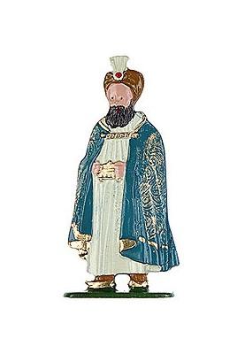 König mit Turban zum Stellen