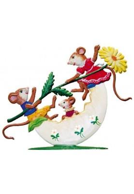 Mäuse Eiwippe stehend