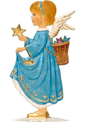 Engel mit Sternen zum Stellen
