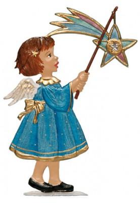 Engel mit Sternlaterne zum Stellen