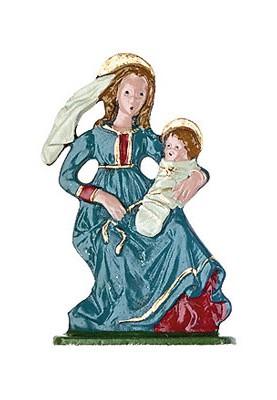 Maria mit Kind zum Stellen