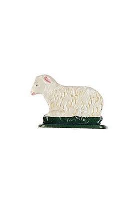 Schaf liegend zum Stellen