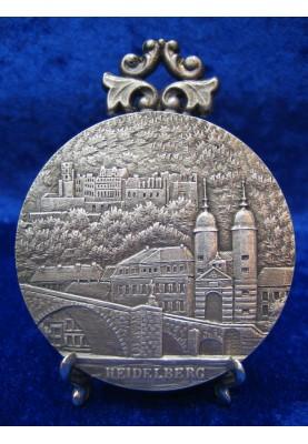 Zinnplakette Heidelberg 6,0cm (Ö)