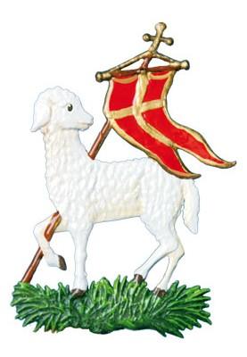 Osterlamm mit Fahne
