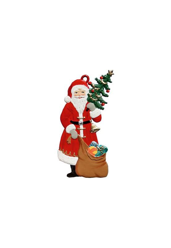 nikolaus mit tanne zinnanh nger weihnachten nikol use. Black Bedroom Furniture Sets. Home Design Ideas