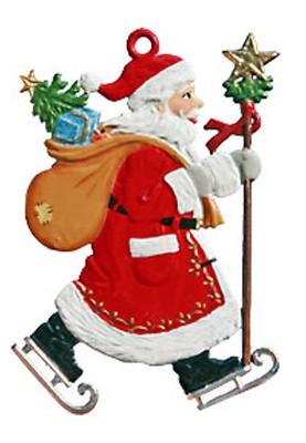 Nikolaus mit Schlittschuhen