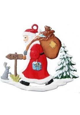 Nikolaus im Wald