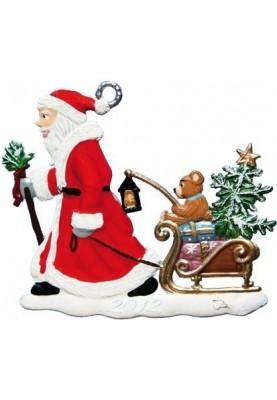 Nikolaus zieht Schlitten