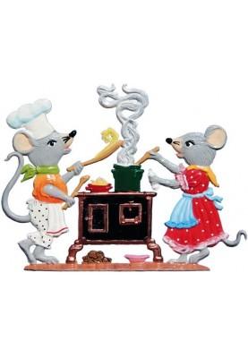 Mäuseküche stehend