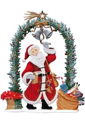 Nikolaus 2015 am Weihnachtstor zum Stellen