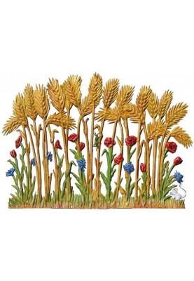 Zinn Getreidefeld zum Stellen