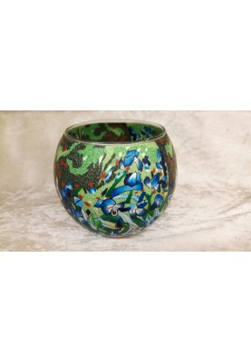 Leuchtglas 11cm Iris (Van Gogh)