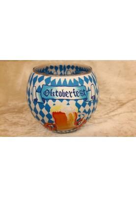 Leuchtglas 11cm Oktoberfest