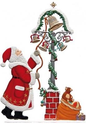 Zinn Nikolaus 2016 mit Glocken zum Stellen