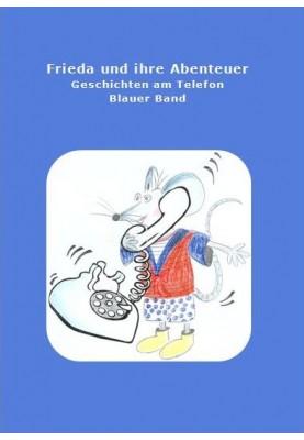 Buch Frieda und ihre Abenteuer blau