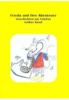 Buch Frieda und ihre Abenteuer gelb