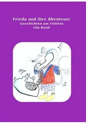Buch Frieda und ihre Abenteuer lila
