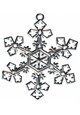 Zinn Eiskristall #1
