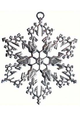 Zinn Eiskristall #2
