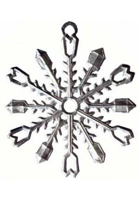 Zinn Eiskristall #3