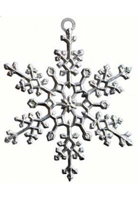 Zinn Eiskristall #4