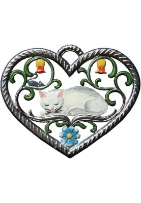 Heart with Cat small