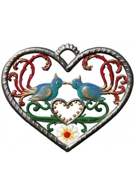 Heart with Birds small
