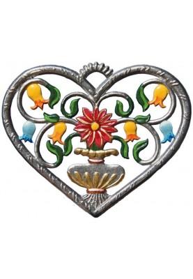 Herz mit Blumen klein
