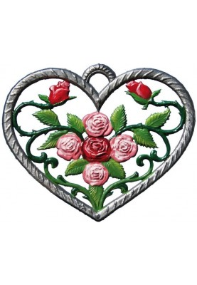 Heart with Roses small