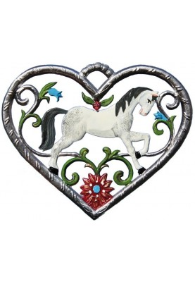 Heart with Horse small